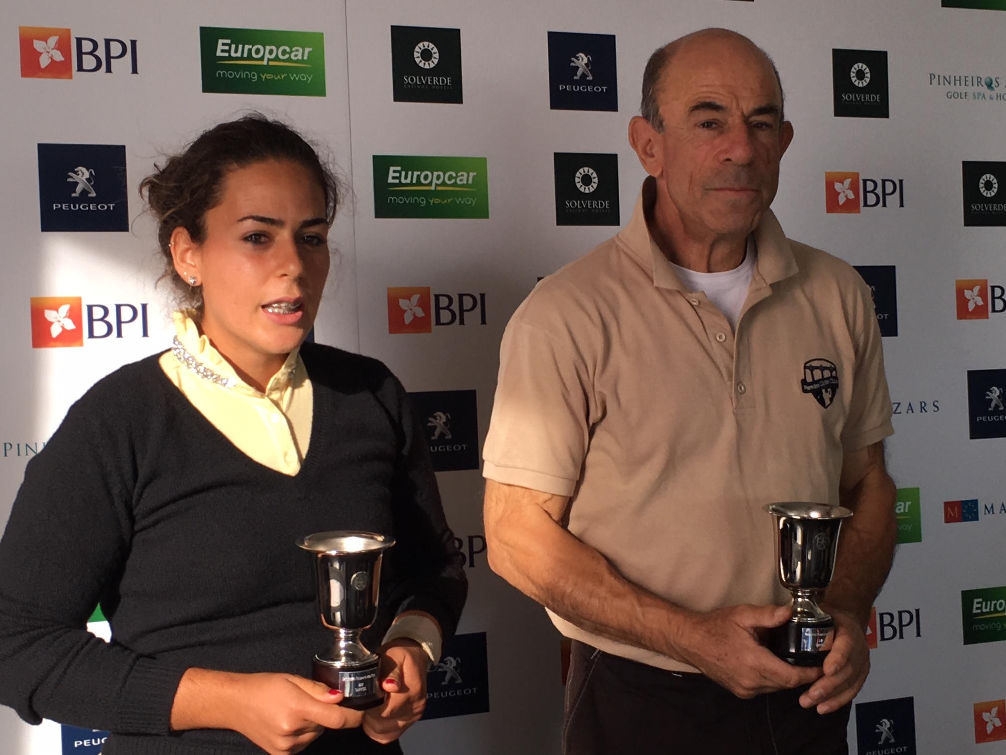 Campeonato Nacional de Pares Mistos. Título foi para pai e filha, António e Leonor Bessa