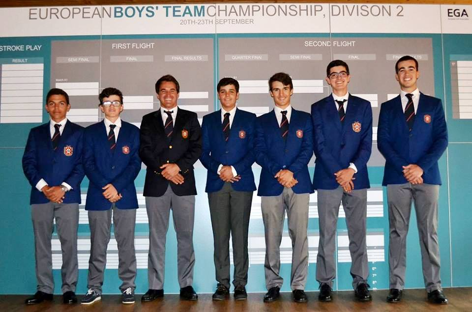 European Boys Team Division 2 - 2017