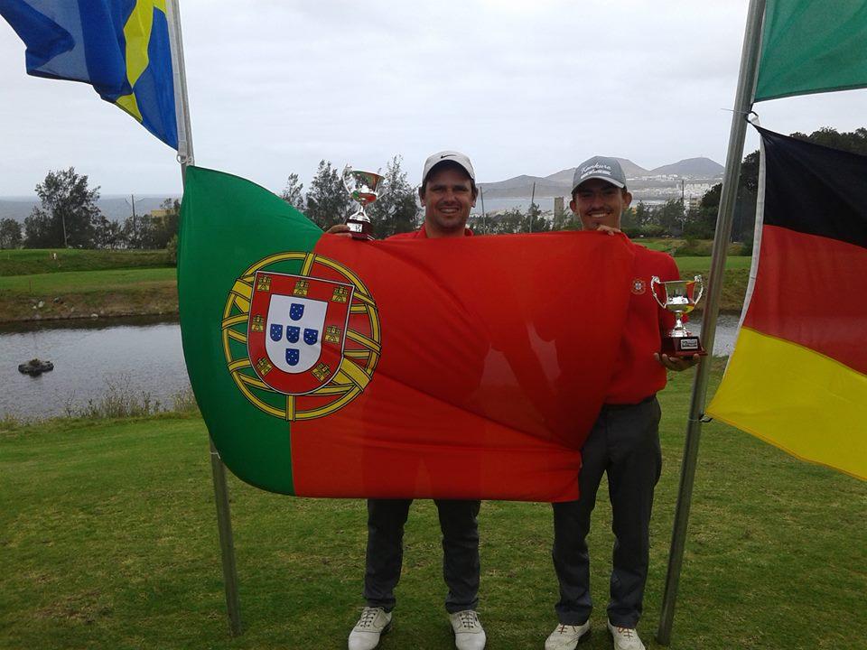 Hugo Espírito Santo e João Maria Pontes vice-campeões do Mundo de Pitch & Putt