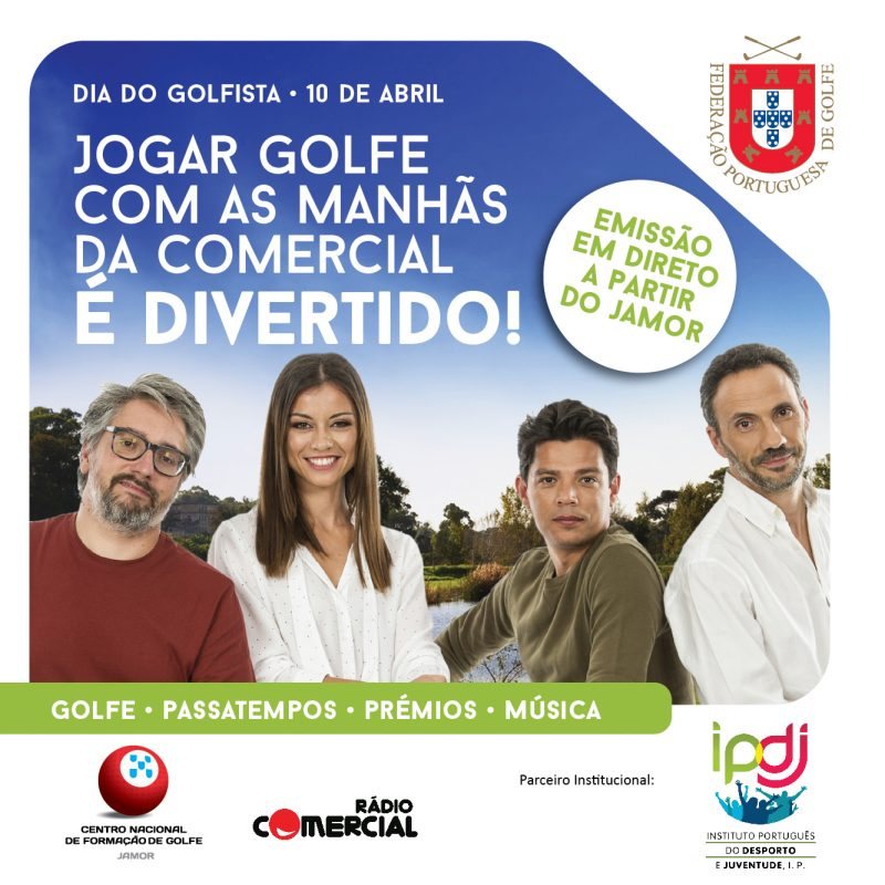 DIA DO GOLFISTA COMEMORA-SE A 10 DE ABRIL