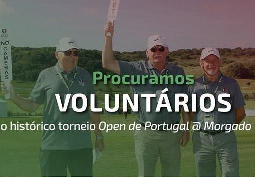 Open de Portugal – Procuramos Voluntários
