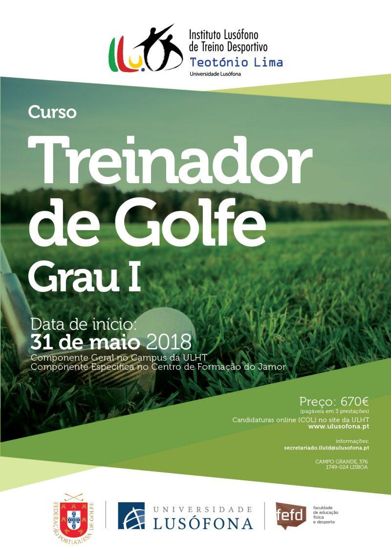 CURSO DE TREINADORES DE GOLFE GRAU I