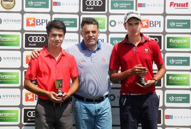 Carlos Conceição e Lucas Azinheiro são os novos campeões em homens