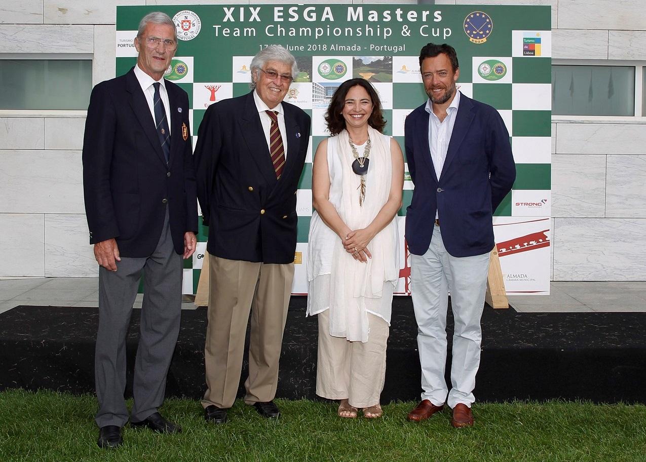 ESGA Masters Team Championship traz a Portugal 242 golfistas de 20 países