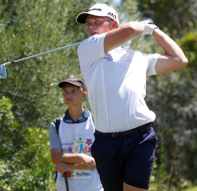 Oceânico World Kids Golf – CALVIN HOLMES BATE RECORDE DO TORNEIO E QUER SER PORTUGUÊS