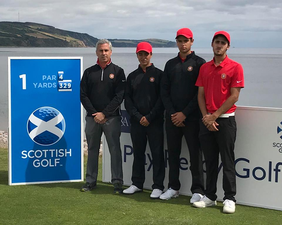 Scottish Boys U16 Open Championship 2018 – Francisco Matos Coelho passa cut na Escócia