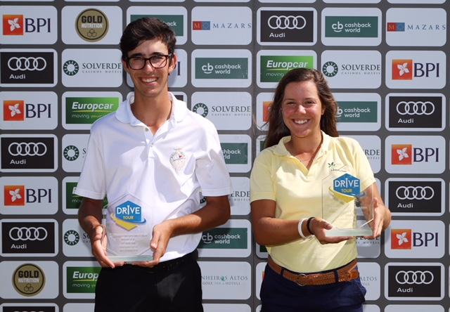 3.º Torneio Drive Tour – Campeonato Nacional de Jovens – Pedro Silva e Leonor Medeiros chegaram do Europeu de Sub-16 na Noruega para logo vencerem em Belas