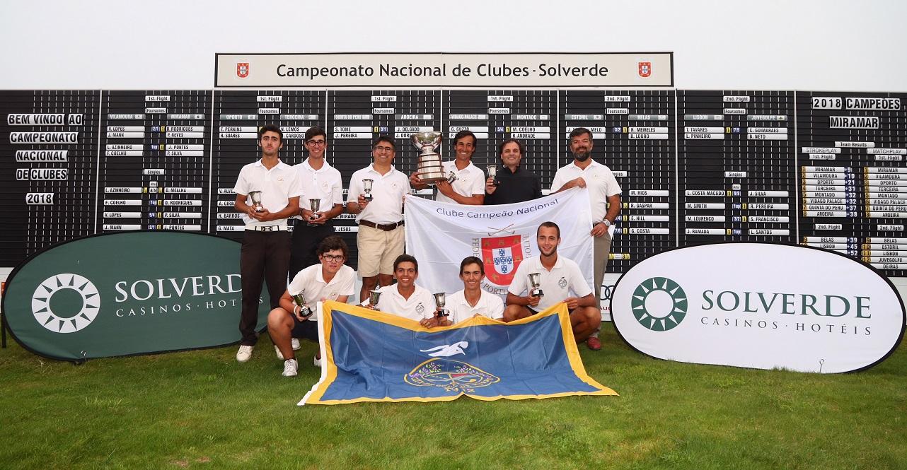 Campeonato Nacional de Clubes Solverde – Miramar novamente campeão ao fim de 24 anos