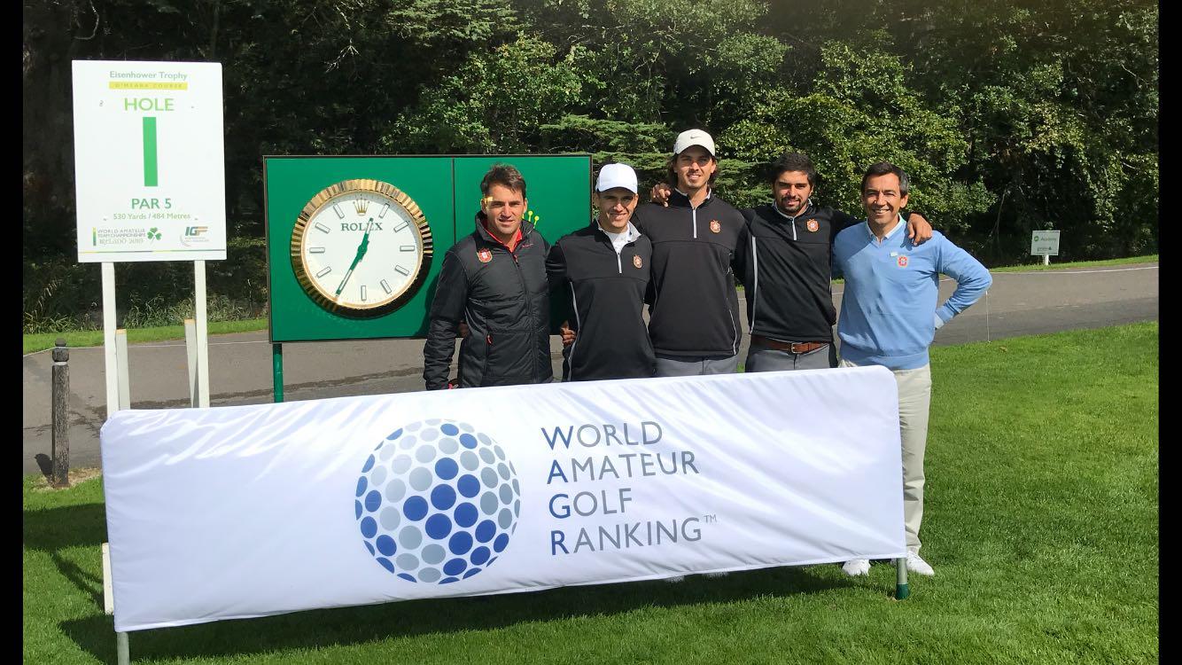 Mundial Amador por Equipas – Homens/Troféu Eisenhower – A vez de a seleção nacional masculina entrar em prova na Irlanda