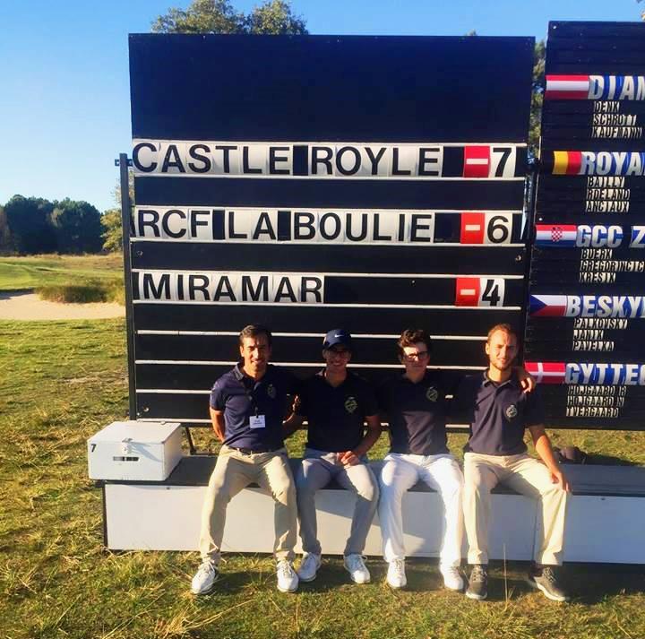 European Men´ s Club Trophy – CG Miramar em terceiro lugar após jornada inaugural em França