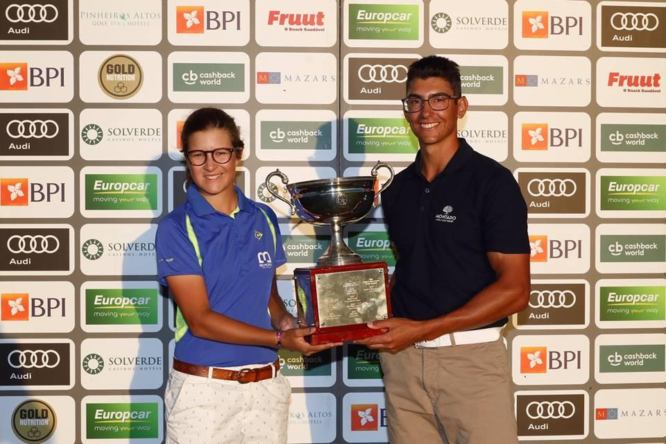 32.ª Taça da Federação Portuguesa de Golfe BPI – Sofia Sá e Hugo Teixeira vencedores sensacionais