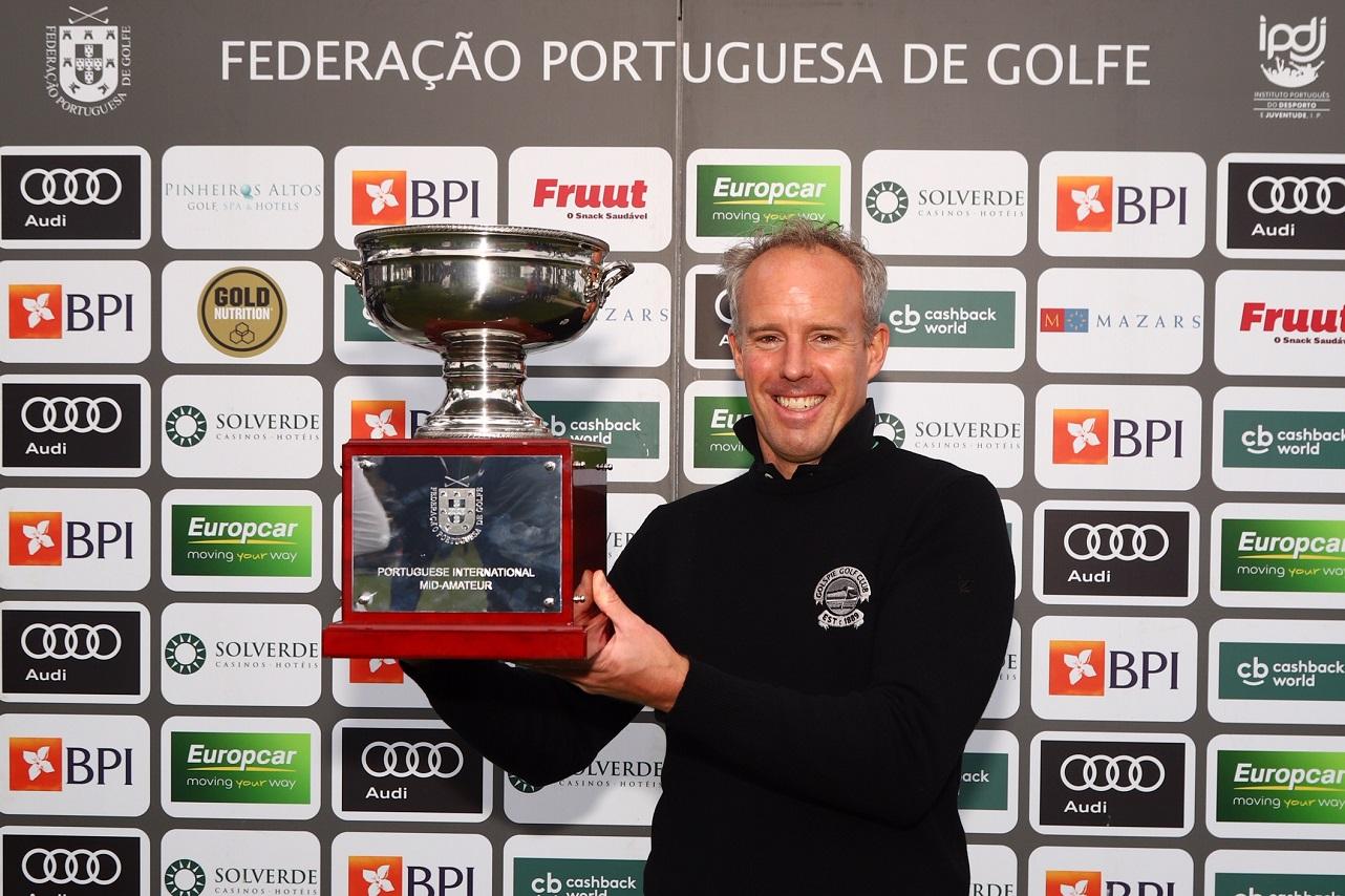 1.º Campeonato Internacional Mid-Amateur de Portugal – Alemão Jorg Paulus vence edição inaugural em Tróia, português Luís Costa Macedo foi vice-campeão