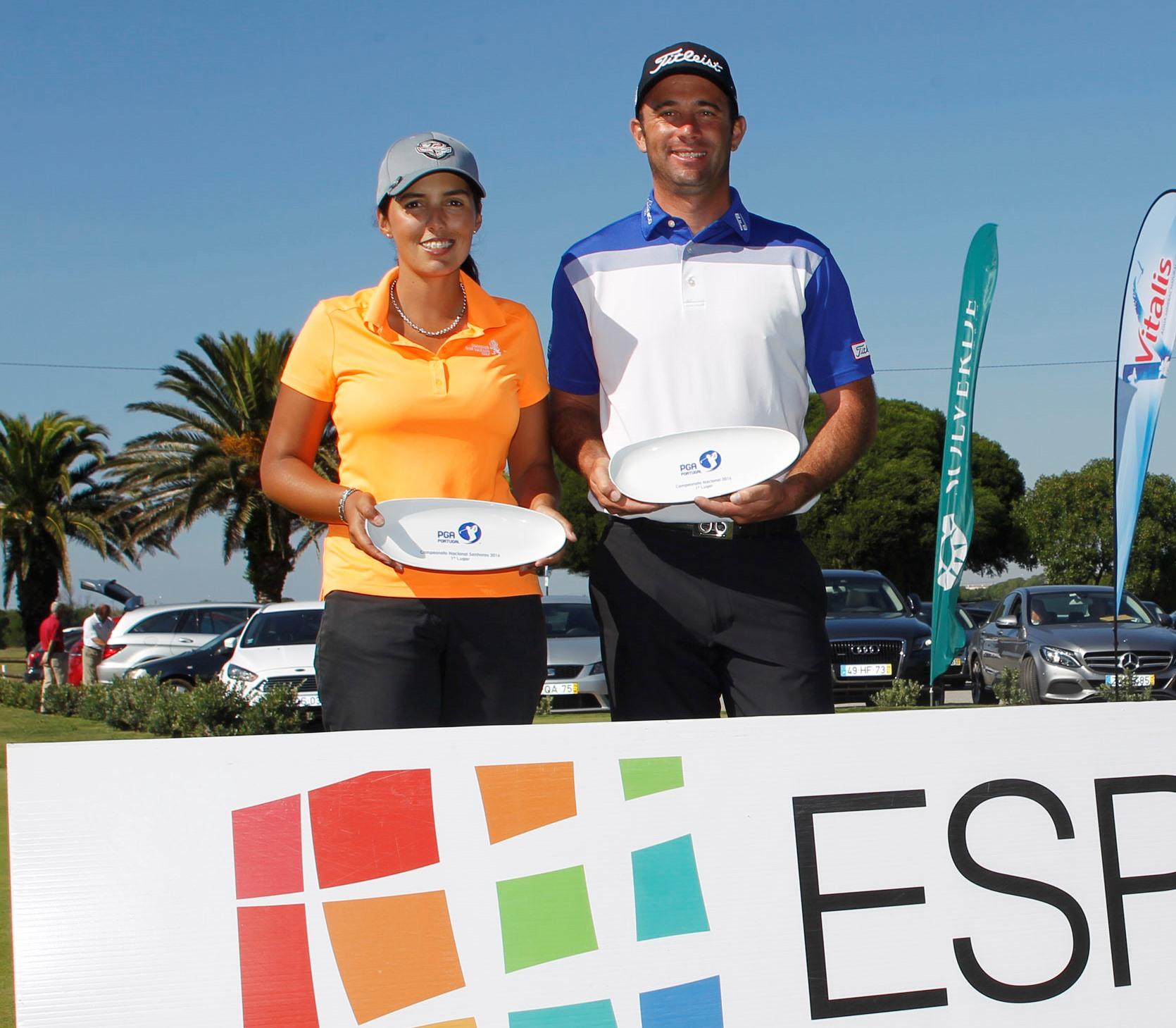 Solverde Campeonato Nacional PGA – RICARDO SANTOS E SUSANA RIBEIRO TENTAM REEDITAR TRIUNFOS DE 2016