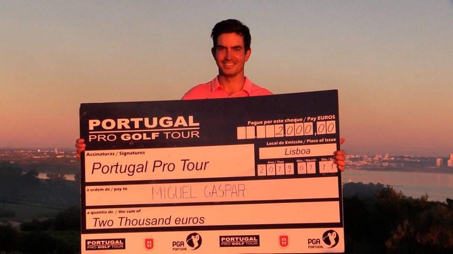 Miguel Gaspar aprendeu a ganhar