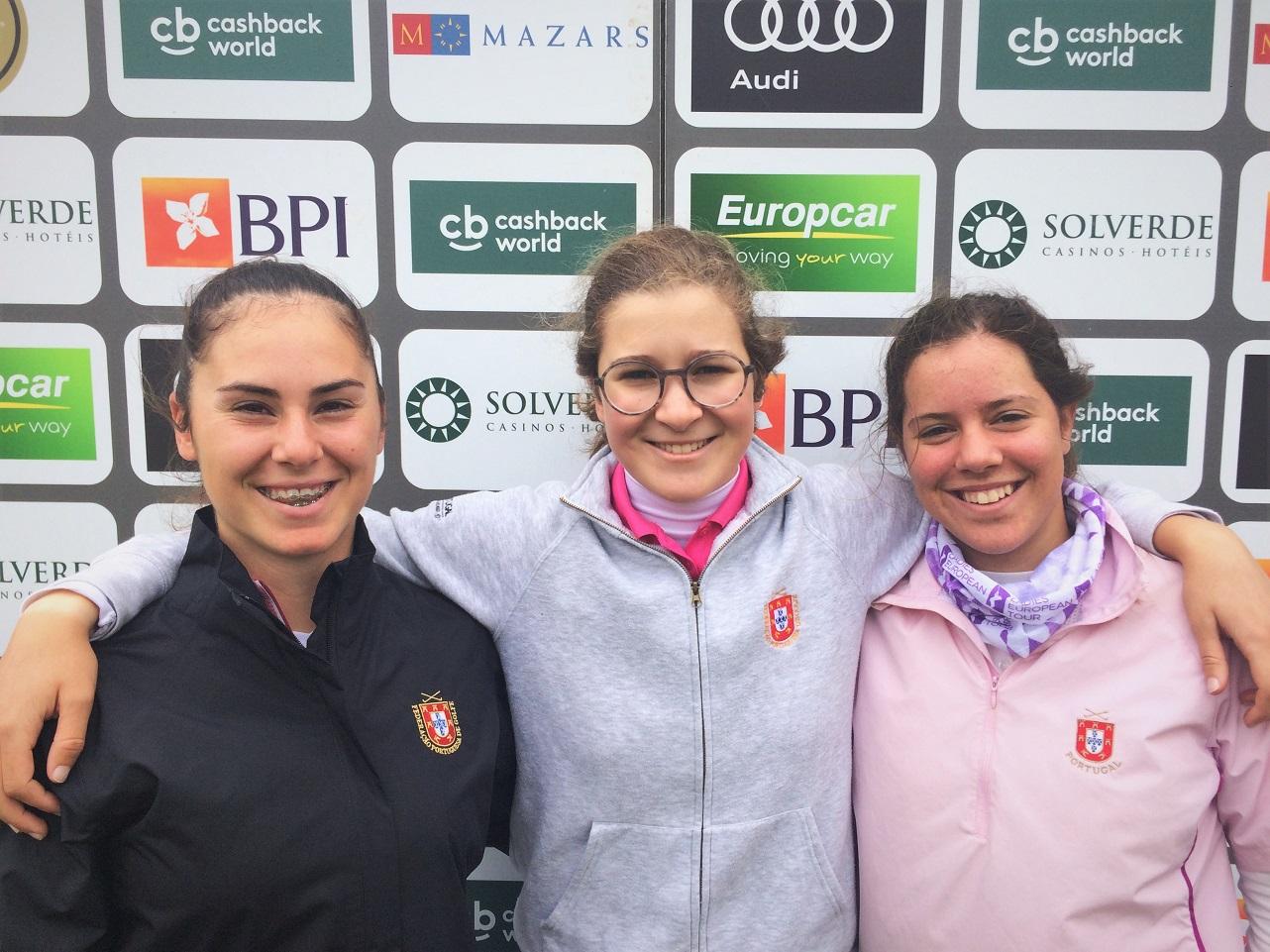 89.º Campeonato Internacional Amador Feminino de Portugal – Sara Gouveia e Leonor Medeiros dentro do top-30 a abrir