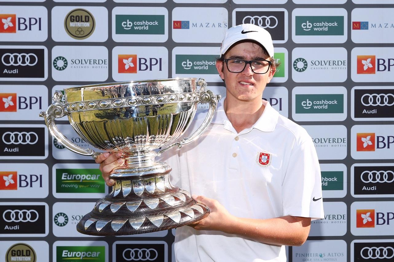 89.º Campeonato Internacional Amador de Portugal – Homens – Daniel Rodrigues vence com apenas 16 anos mantendo troféu na posse de portugueses