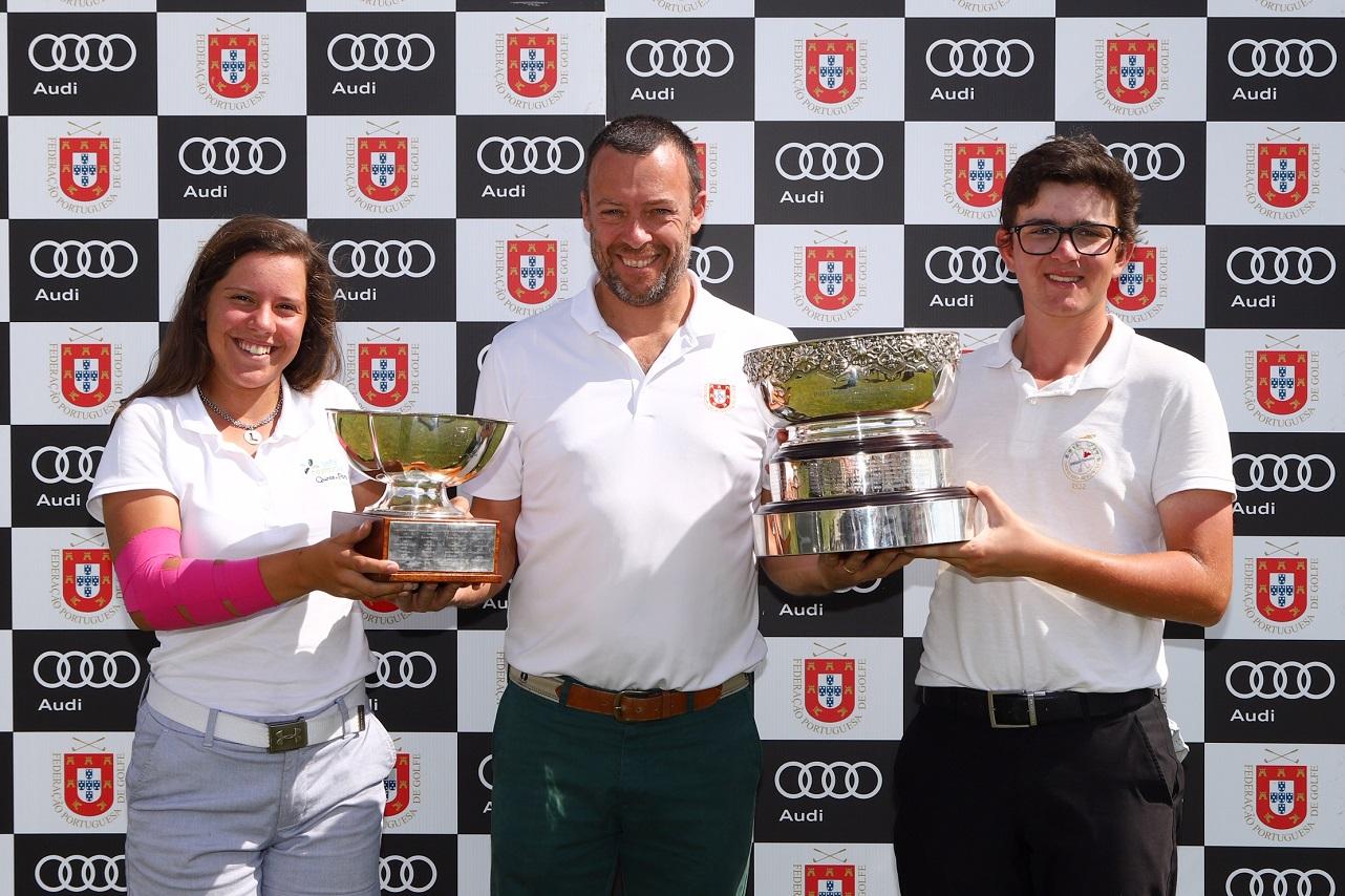 Campeonato Nacional Absoluto Audi – Leonor Medeiros e Daniel Rodrigues  são os novos campeões nacionais