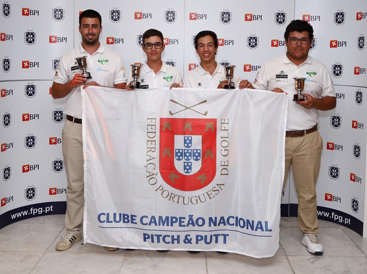 Campeonato Nacional de Clubes Pitch & Putt – Paredes GC conquista o seu primeiro título