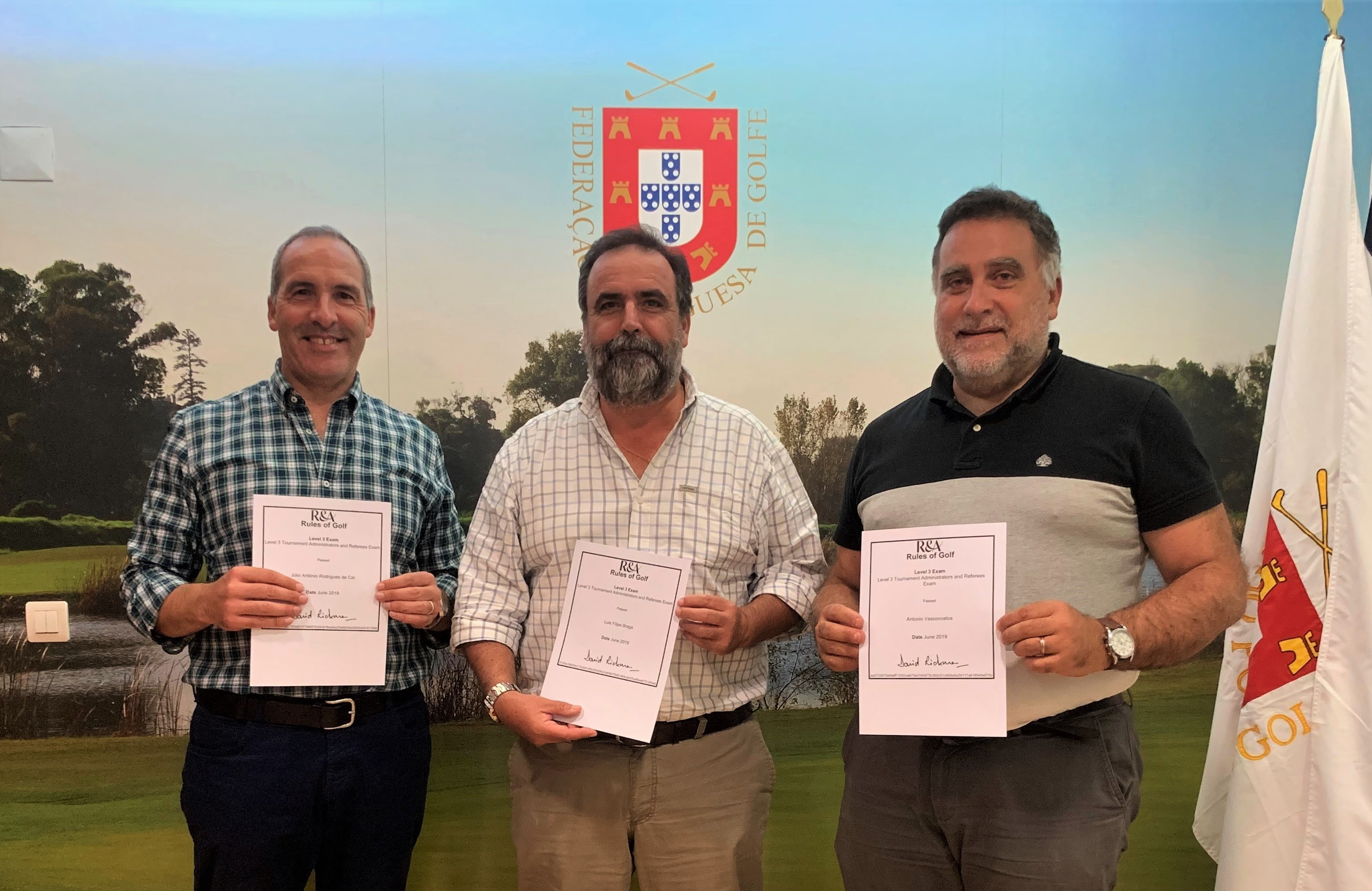 Formação Árbitros R&A Level 3 – Tournament Administrators and Referees