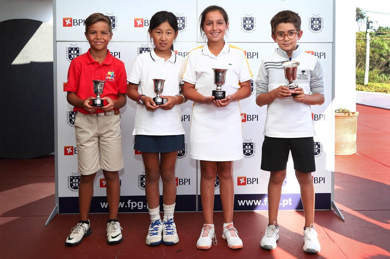 Campeonato Nacional de Sub10 – Francisco Reis e Maria Francisca Salgado  são os novos campeões Sub10