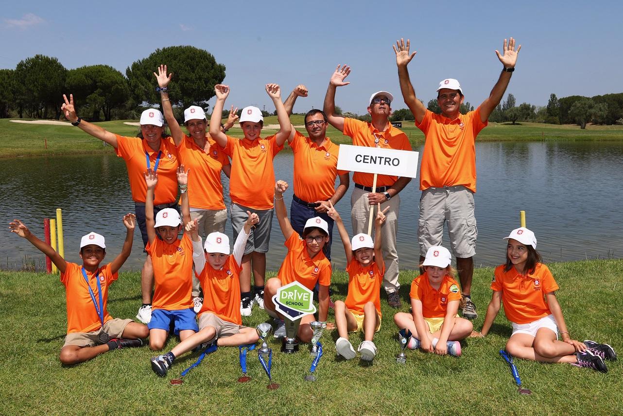 Campeonato Nacional Drive School & Drive Prof- Centro conquista troféu Inter-Regiões na grande festa do golfe escolar