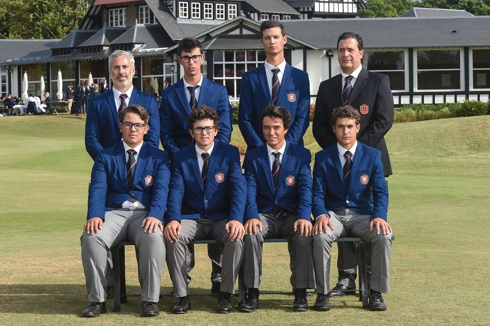 European Boys Team Championship –  Seleção Nacional a um lugar do apuramento para o 1.º Flight