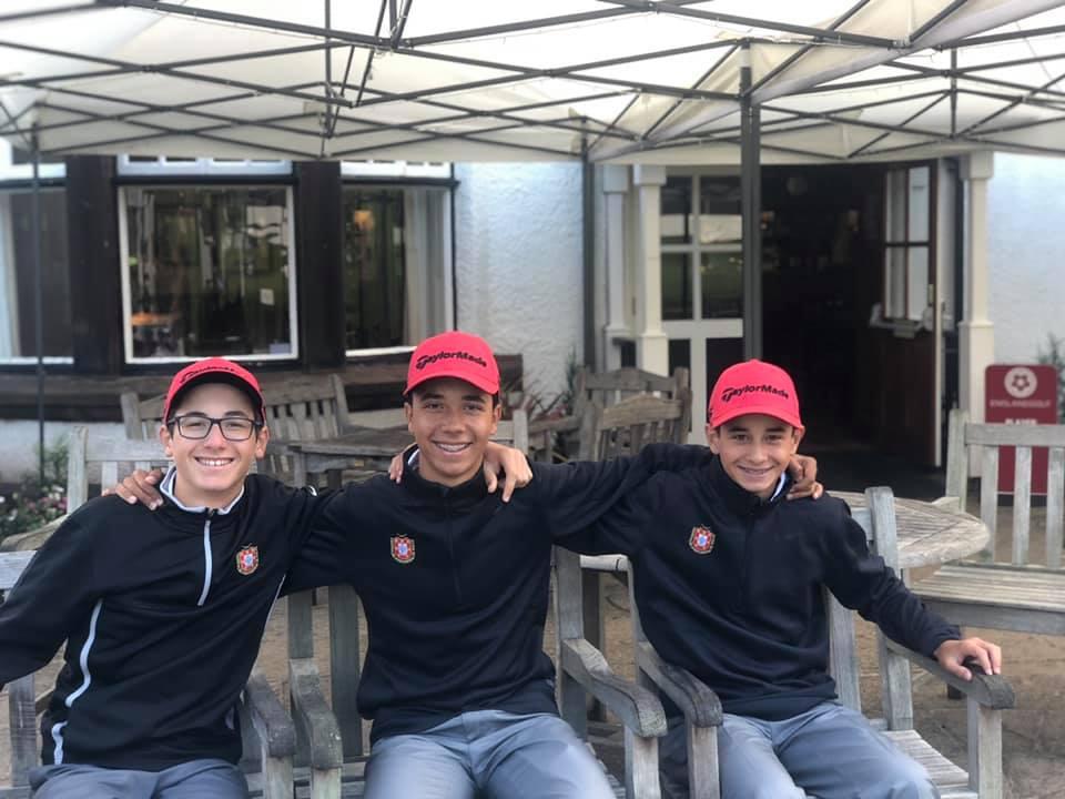 English U14 Boys' Open Amateur Stroke Play  – Pedro Freitas e Pedro Sousa Machado dentro da jornada decisiva