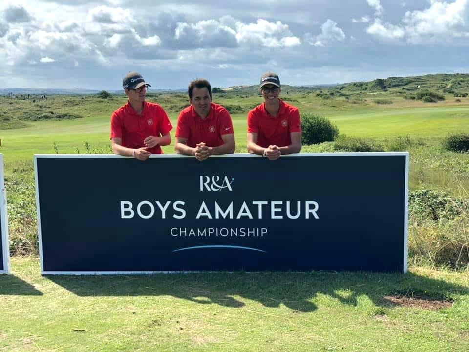The Boys Amateur Championship – Dupla portuguesa luta para seguir em frente
