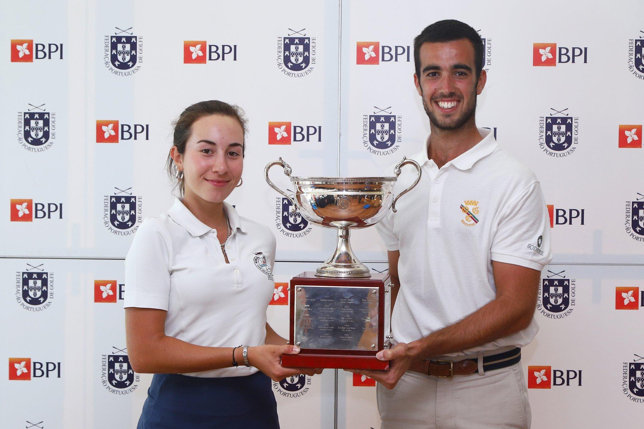 Taça da Federação Portuguesa de Golfe BPI – Vasco Alves e Rita Costa Marques vitoriosos