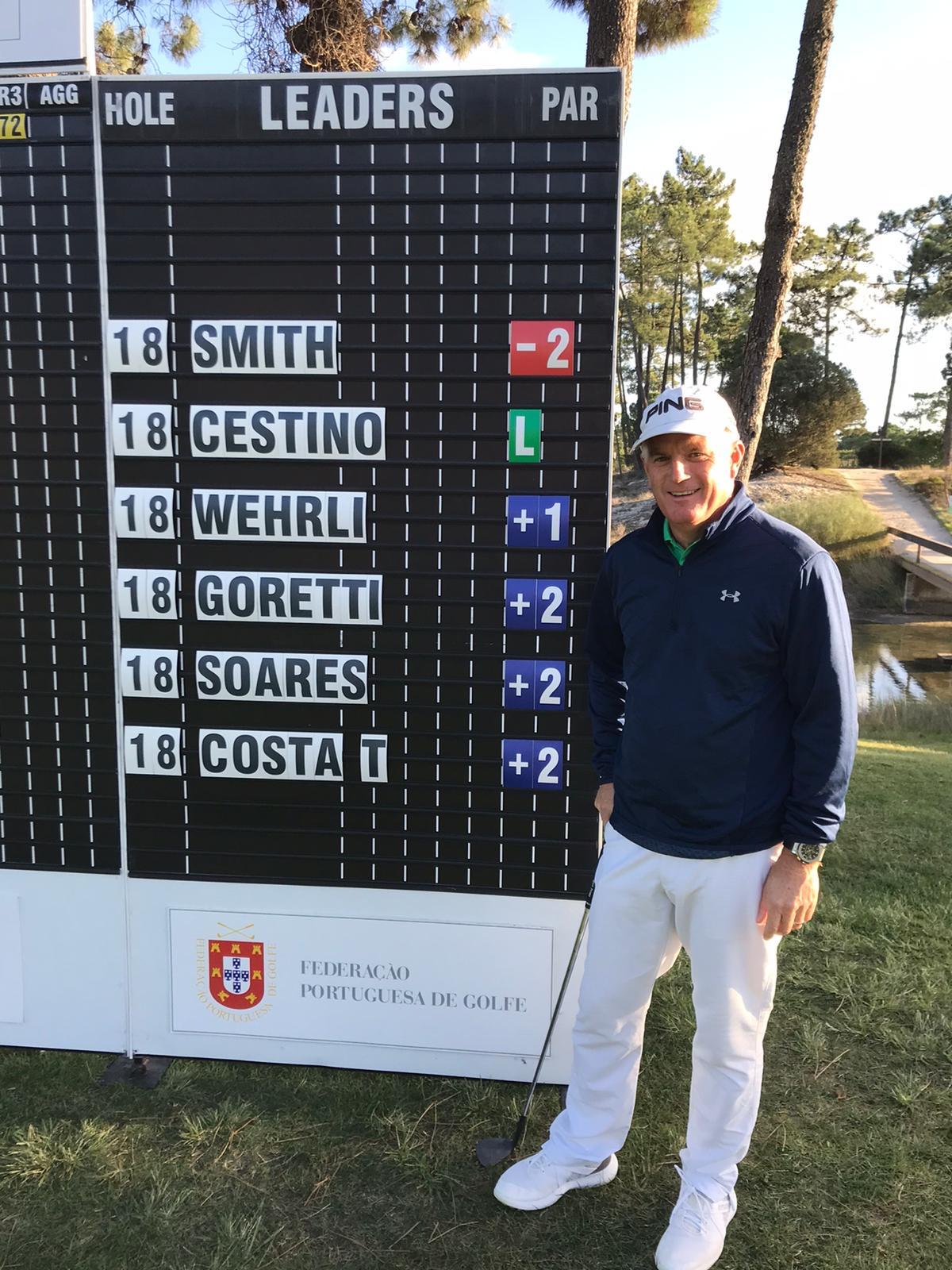 Campeonato Internacional Mid-Amateur de Portugal – Inglês Brad Smith na liderança, Tiago Costa e Manuel Violas Jr. no Top-10
