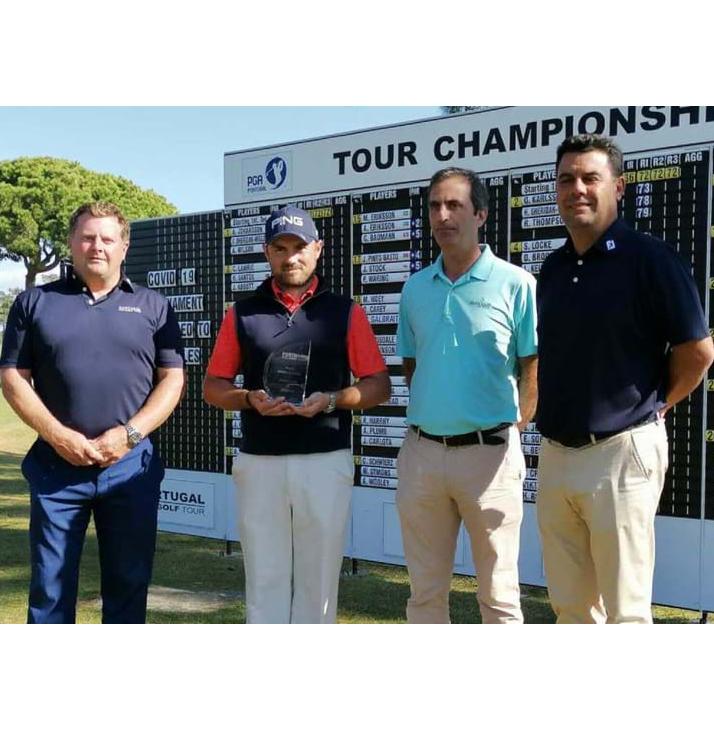 Portugal Pro Golf Tour – Pedro Lencart no 5.º lugar e Jamie Abbott campeão