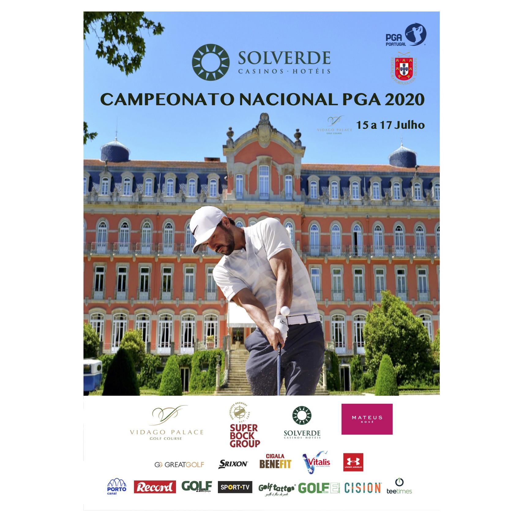 Solverde Campeonato Nacional PGA – VIDAGO PALACE GOLF COURSE ANFITRIÃO PELA PRIMEIRA VEZ