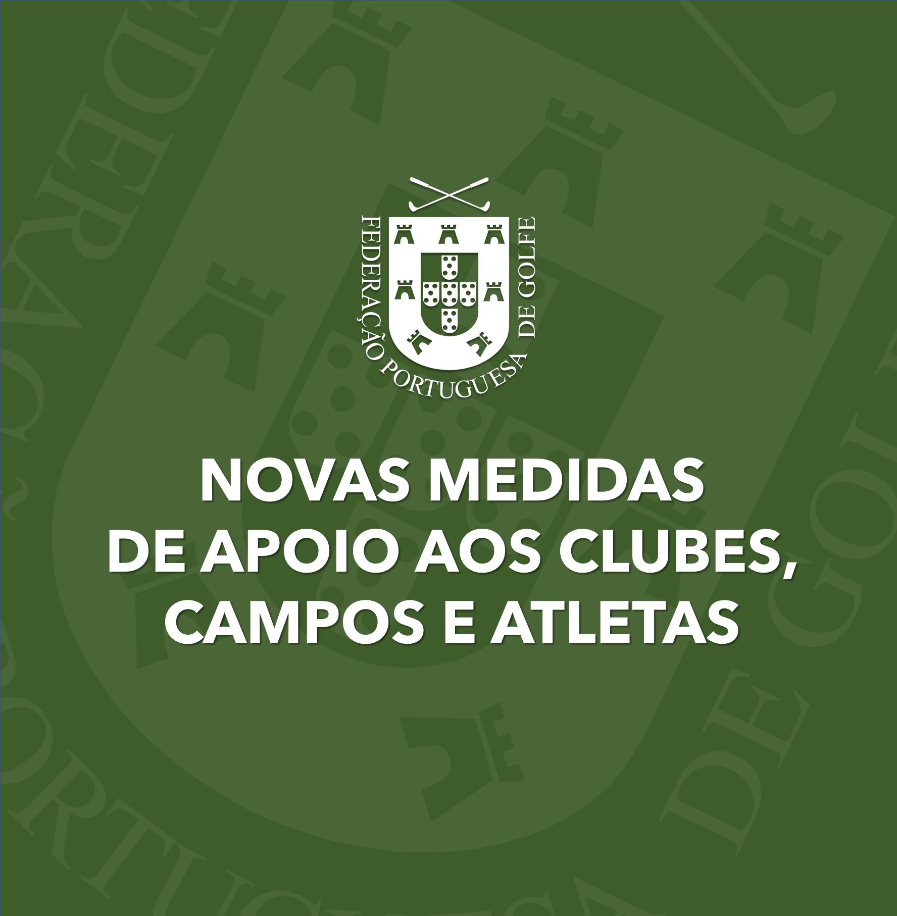 A FPG APRESENTA AS NOVAS MEDIDAS DE APOIO AOS CLUBES, CAMPOS E ATLETAS