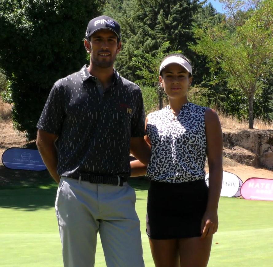 Solverde Campeonato Nacional PGA – IRMÃOS LEONOR E TOMÁS BESSA LIDERAM COM SANTOS E CAVALHEIRO