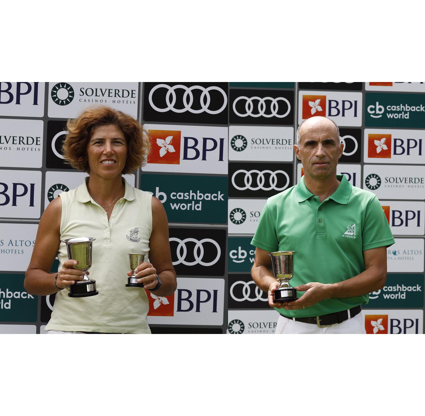 Campeonato Nacional de Seniores dá títulos a Marta Lampreia e Sérgio Pereira