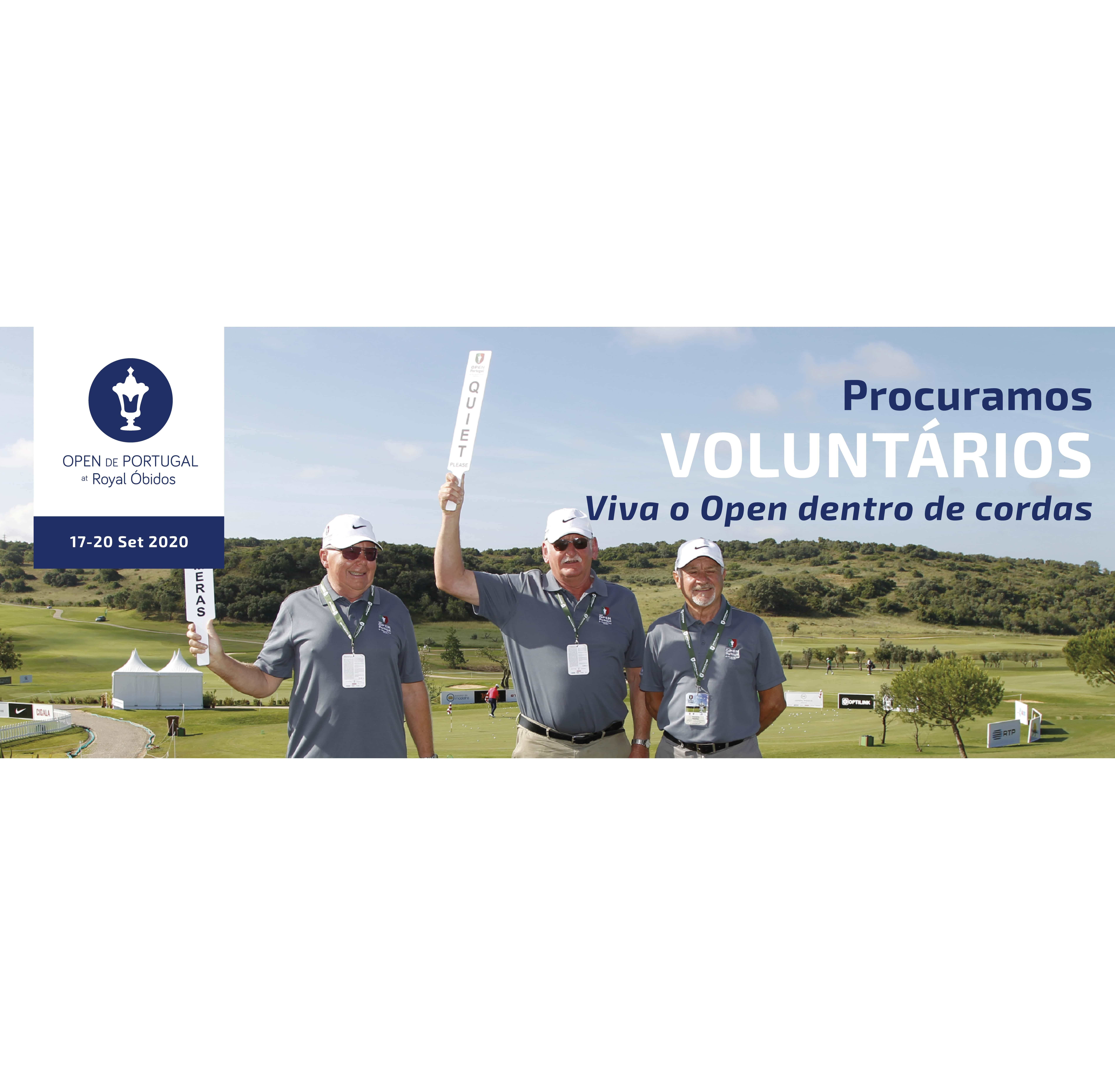 58.º edição do Open de Portugal at Royal Óbidos – Procuramos Voluntários
