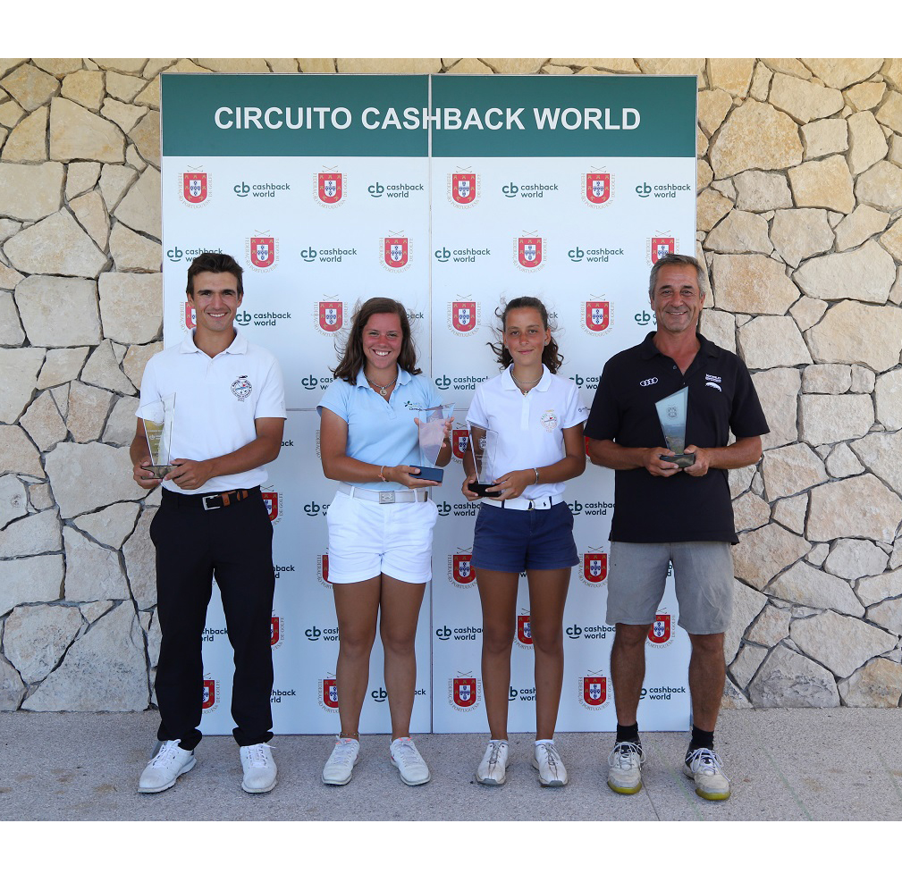 3.º Torneio Circuito Cashback World – Pedro Lencart e Leonor Medeiros   brilharam no Oeste