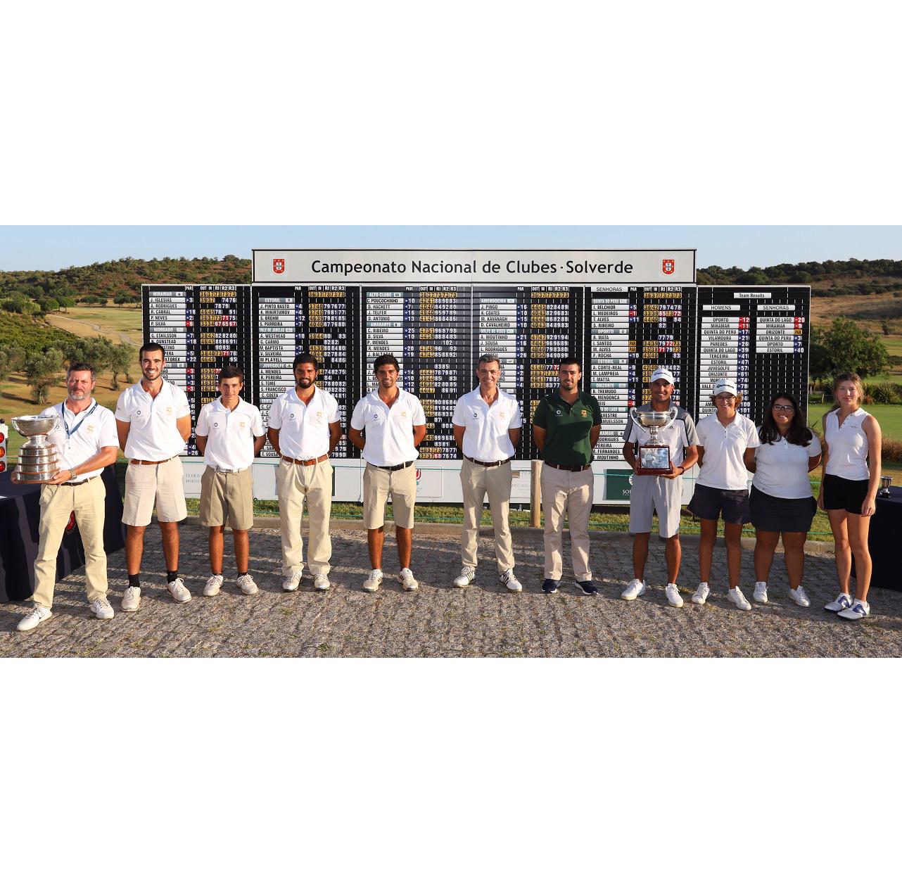 Campeonato Nacional de Clubes Solverde – Oporto GC sagra-se campeão Quinta do Lago estreia-se a vencer