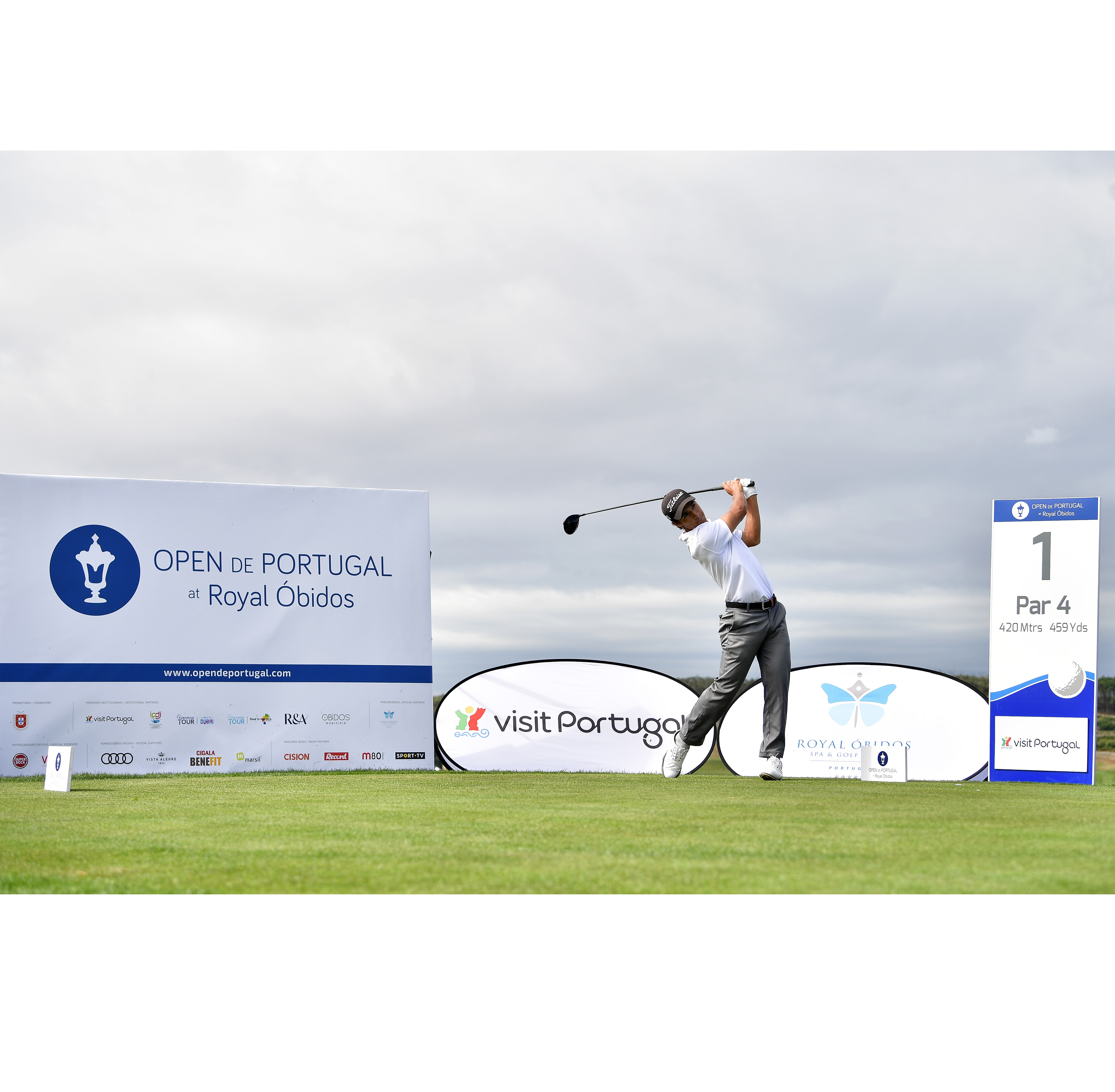 Open de Portugal at Royal Óbidos – Pedro Lencart dentro do 'cut' provisório