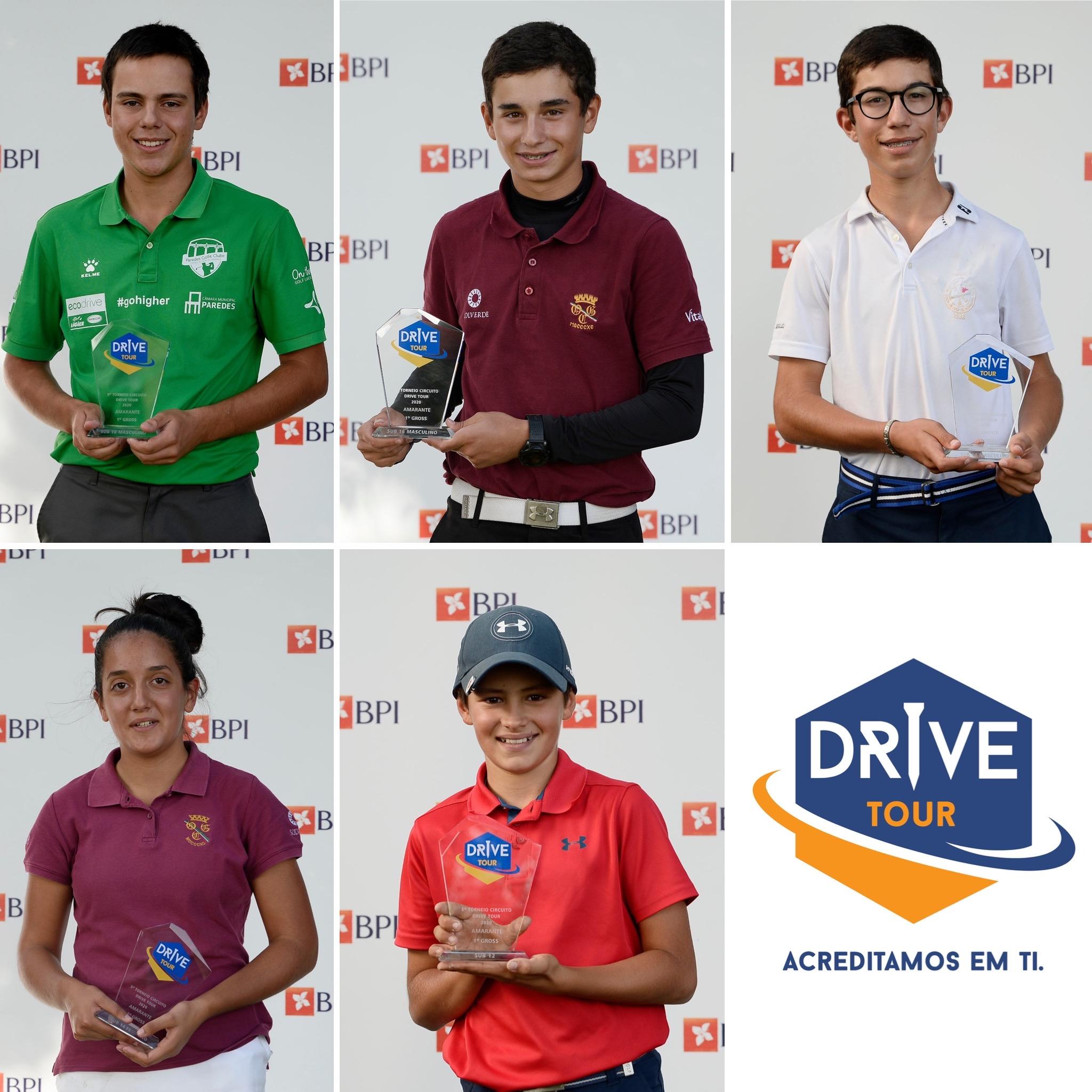 5.º Torneio Drive Tour – Uns grandes vencedores em Amarante
