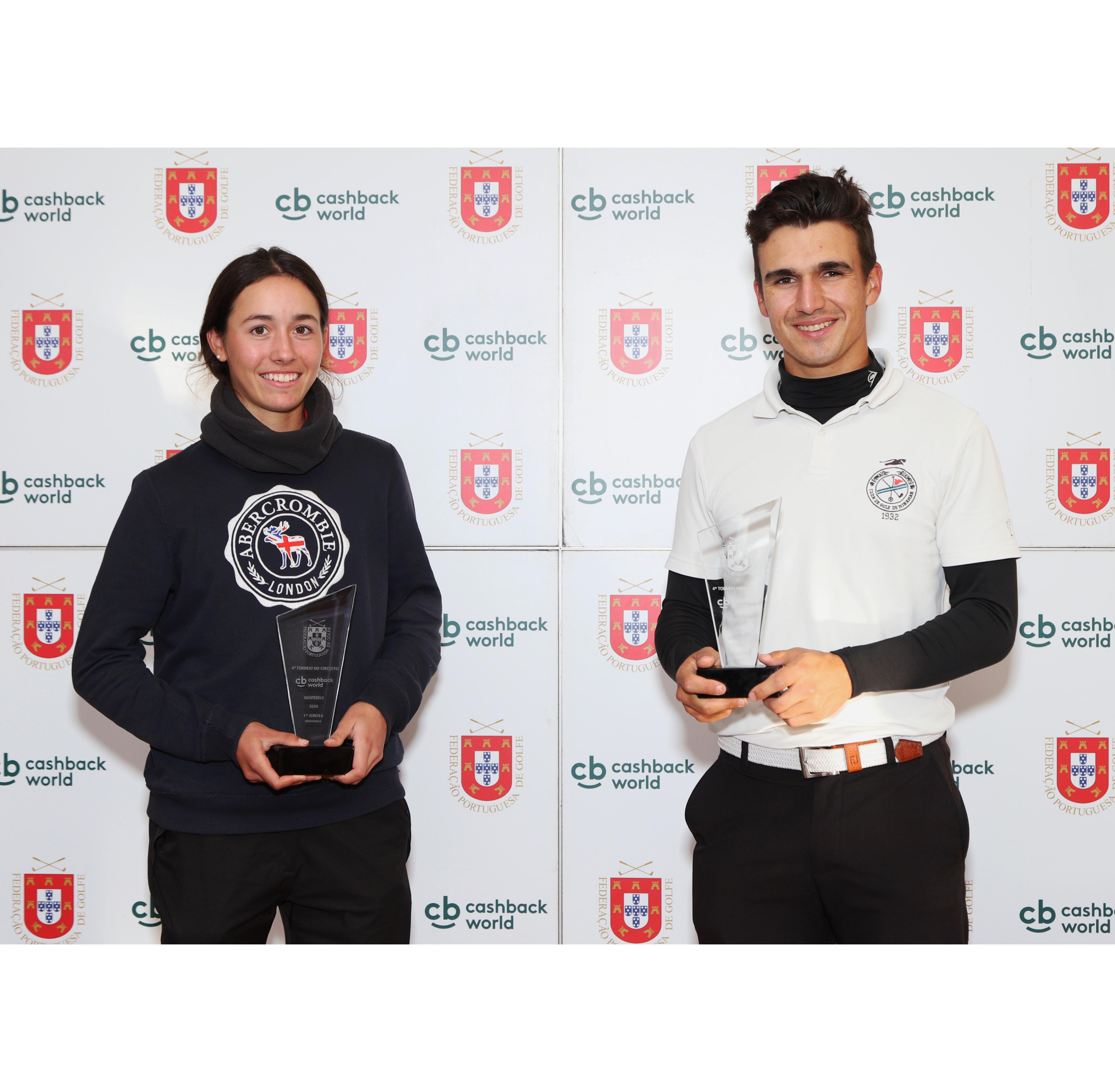 4.º Torneio Circuito Cashback World – Ouro para Pedro Lencart e Isabel Laulhé