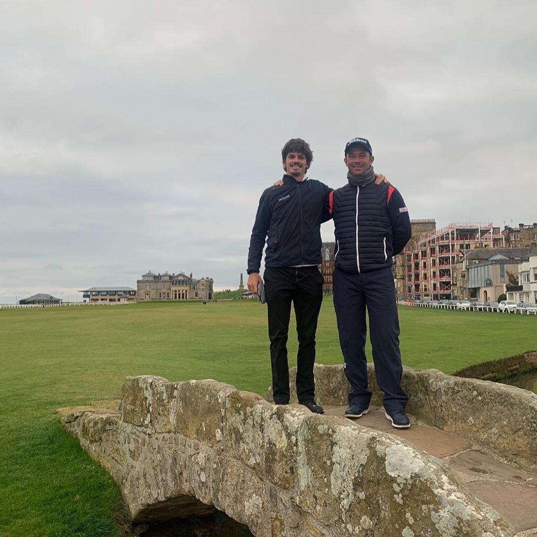 """Scottish Championship – """"Figgy"""" e Santos sobem na Race to Dubai após teste escocês"""