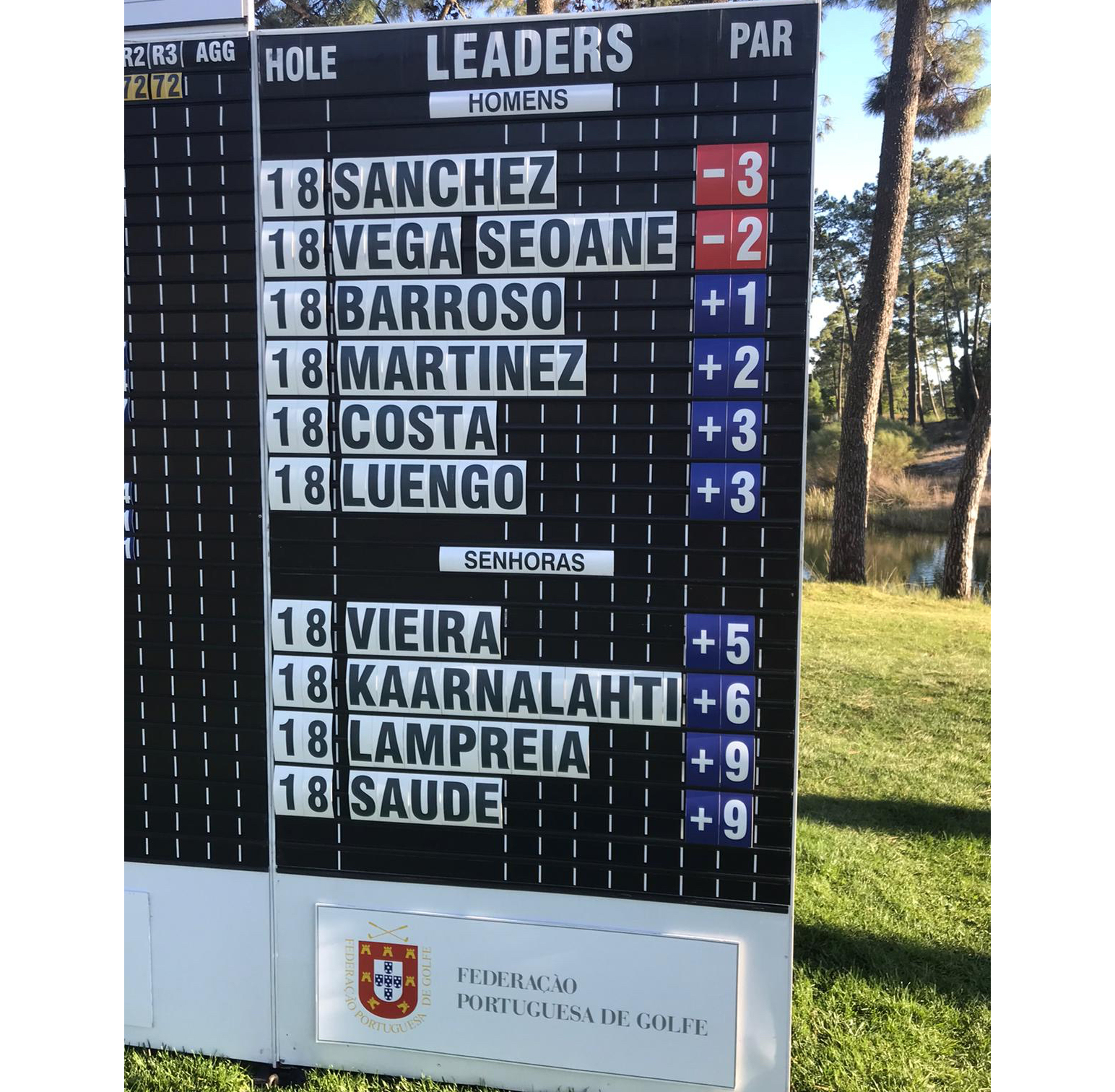 3rd Portuguese International Mid-Amateur Championship–OscarSanchezJubindoe LaraVieira líderesno arranque em Troia