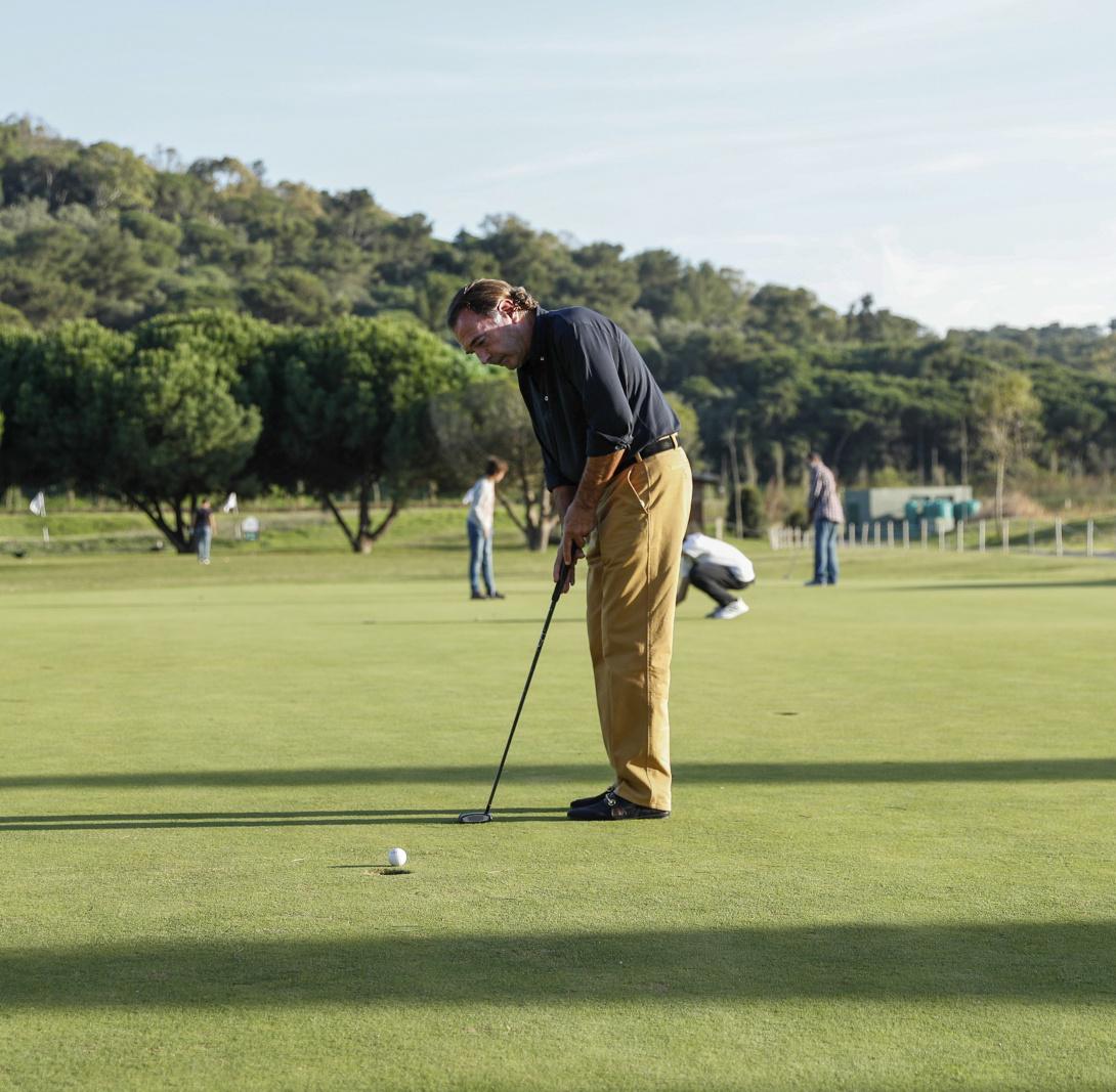 O golfe ao serviço da saúde mental e de doenças crónicas