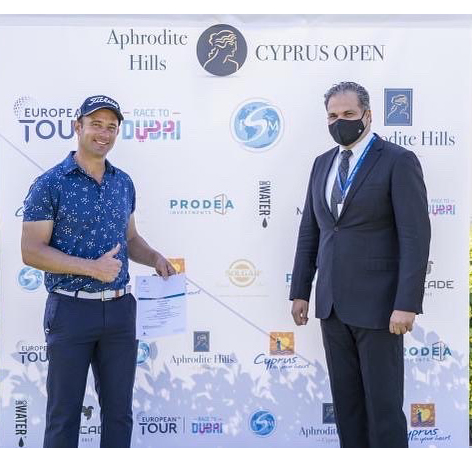 Aphrodite Hills Cyprus Open – Ricardo Santos de hole-in-one faz top-35 no Open do Chipre