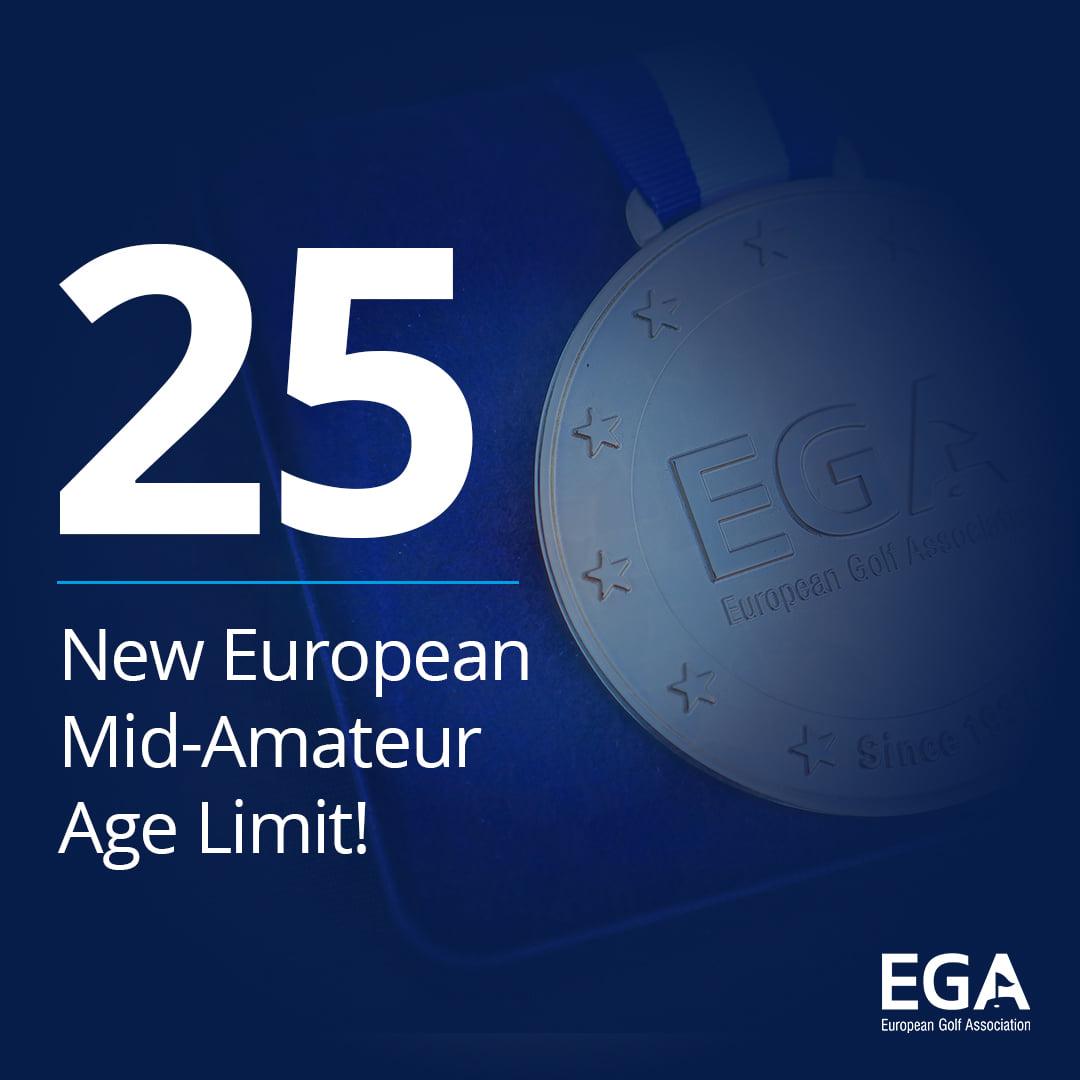Mid-Amateurs com novos limites de idade