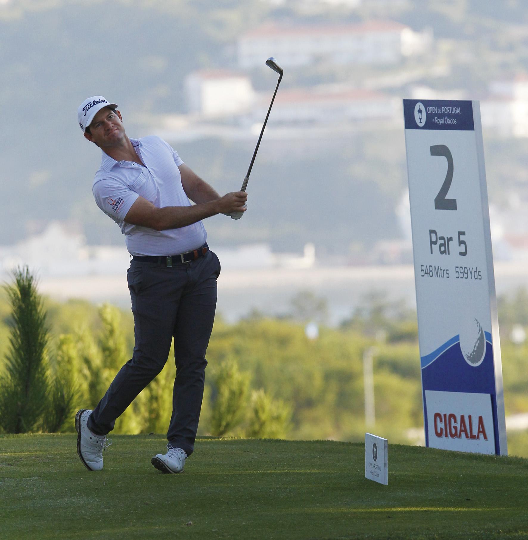 59.º Open de Portugal at Royal Óbidos – RICARDO MELO GOUVEIA ENTRA NO TOP-10 E CONFIRMA CANDIDATURA AO TÍTULO
